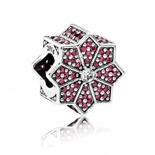 Limited Edition Poinsettia Charm 791989CZR