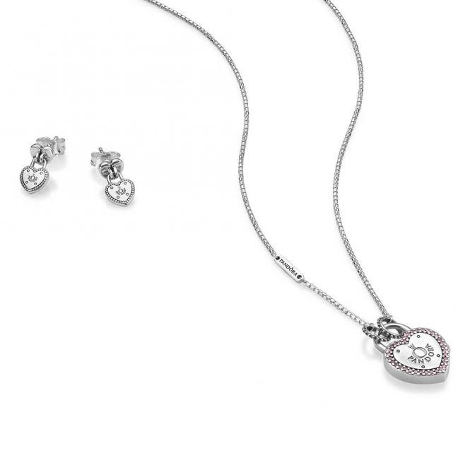 PANDORA Lock Your Promise Gift Set B800764