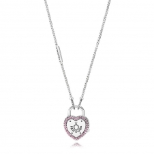 Lock Your Promise Necklace 396583FPC-60
