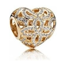 Love and Appreciation Openwork Charm 750837CZ