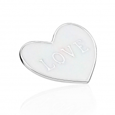 Love Heart Locket Plate - Medium 792119EN23