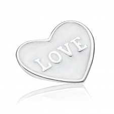 Love Heart Locket Plate - Small 792112EN23
