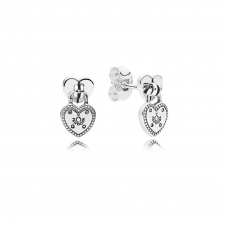 Love Locks Drop Earrings 296575