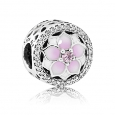 Magnolia Bloom Charm 792085PCZ
