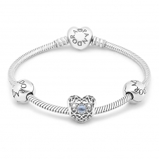 March Birthstone Bracelet B800464