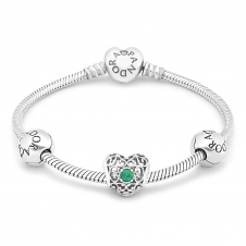 May Birthstone Bracelet B800568