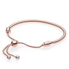 Moments Rose Sliding Bracelet 587125CZ