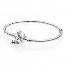 Moments Silver Bracelet - Wildflower Meadow Clasp 597124NLC6