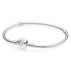 Moments Silver Bracelet with Starry Sky Clasp 590735CZ