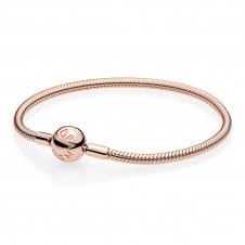 Moments Smooth Rose Clasp Bracelet 580728