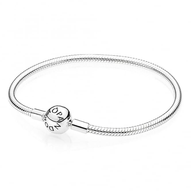 PANDORA Moments Smooth Silver Clasp Bracelet 590728