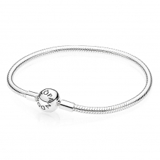 Moments Smooth Silver Clasp Bracelet 590728