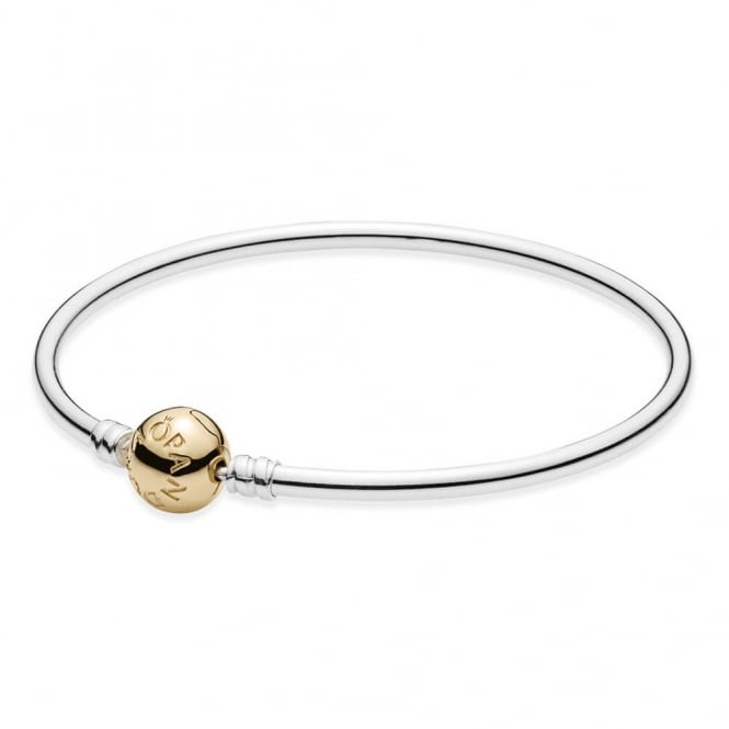 PANDORA Moments Two-Tone Bangle 590718