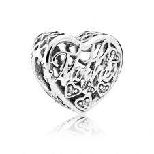 Mother and Son Bond Charm 792109CZ
