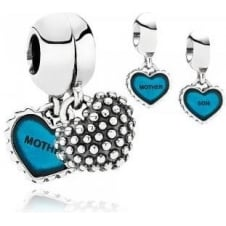 Mother and Son Pendant Charm 791152EN08