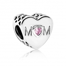 Mother Heart Charm 791881PCZ