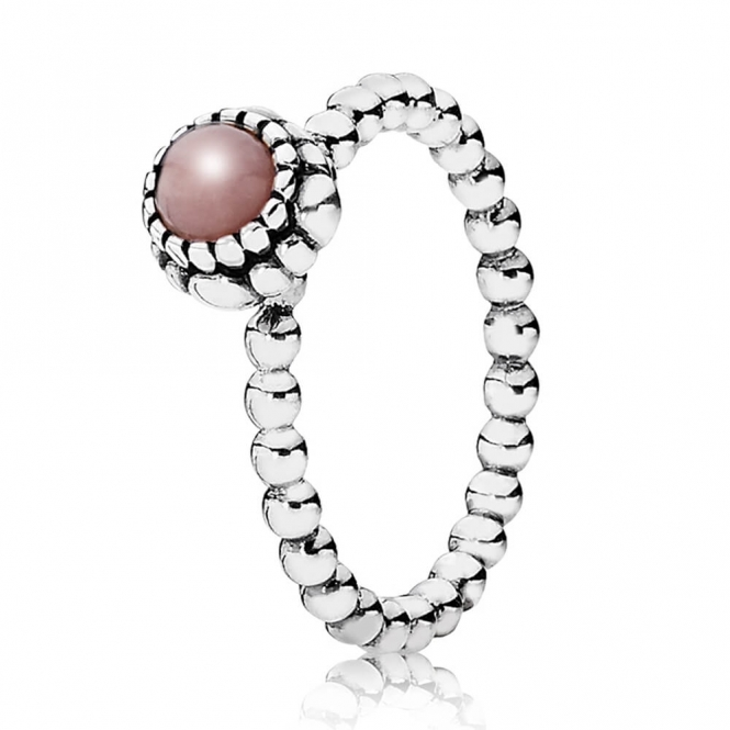 PANDORA October Birthstone Ring 190854POP