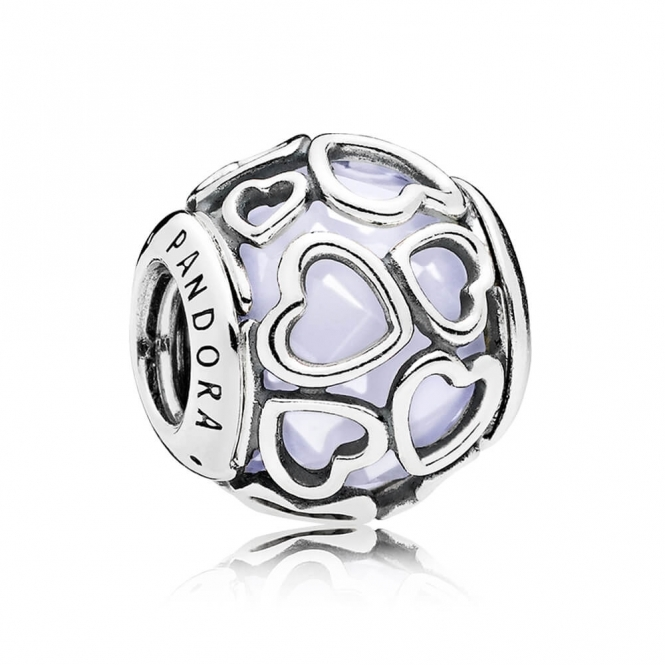 PANDORA Opalescent Encased in Love Charm 792036NOW