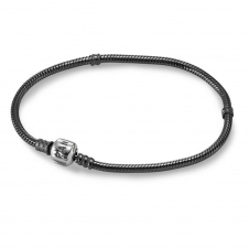 Oxodized Bracelet with Silver Clasp 590702OX