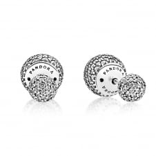Pave Drops Stud Earrings 290737CZ