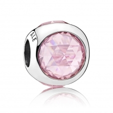 Pink Radiant Droplet Charm 792095PCZ