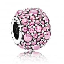 Pink Shimmering Droplets Charm 791755PCZ