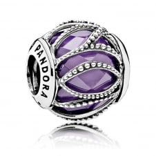 Purple Intertwining Radiance Charm 791968ACZ
