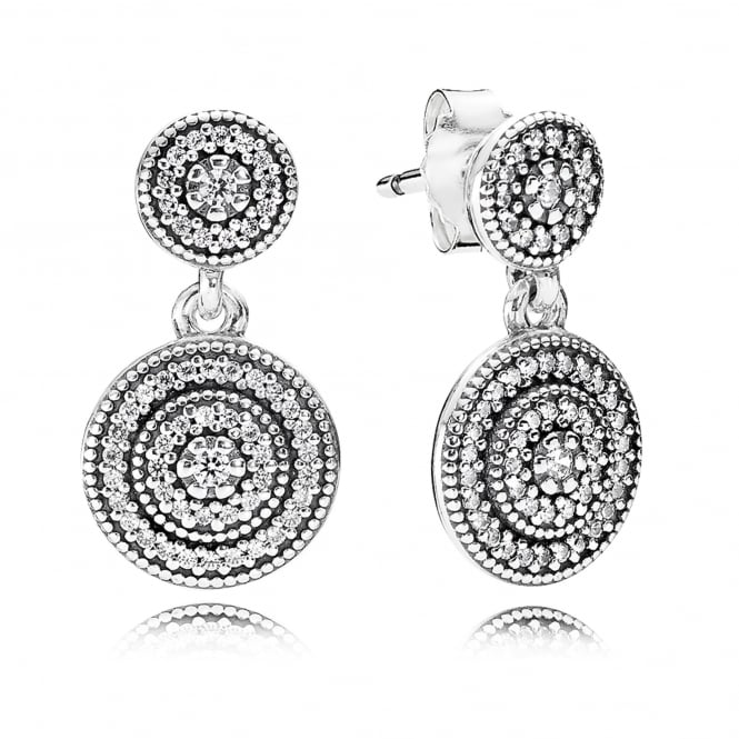 PANDORA Radiant Elegance Drop Earrings 290688CZ