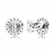 Radiant Logo Stud Earrings 296216CZ