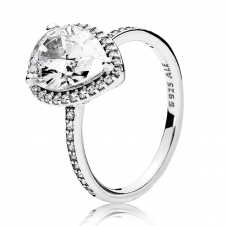 Radiant Teardrop Ring 196251CZ