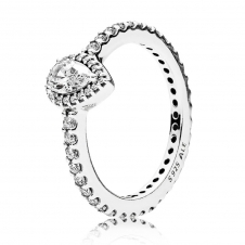 Radiant Teardrop Ring 196254CZ