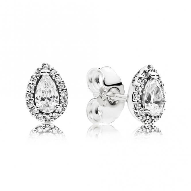 PANDORA Radiant Teardrops Stud Earrings 296252CZ