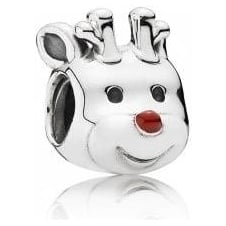 Red Nosed Reindeer Charm 791781EN39
