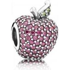 Red Pave Apple Charm 791485CFR