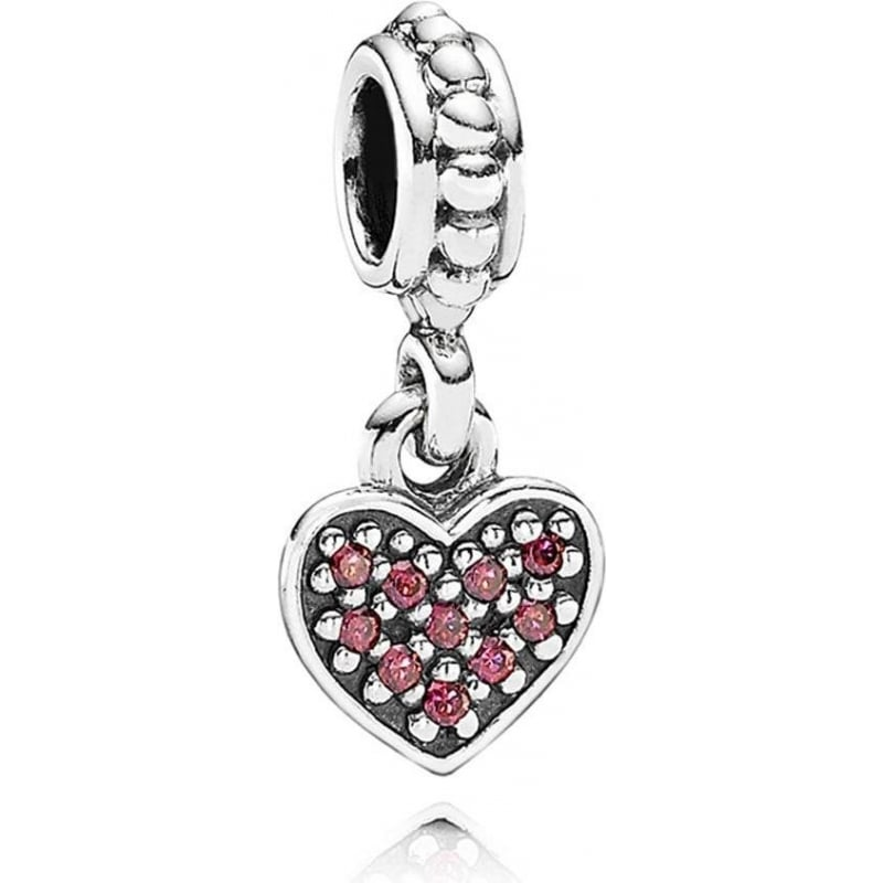 pandora pave pendant charm 791023czr from gift