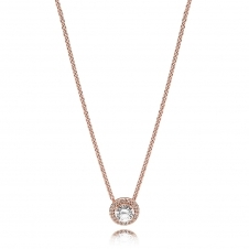 Rose Classic Elegance Necklace 386240CZ-45