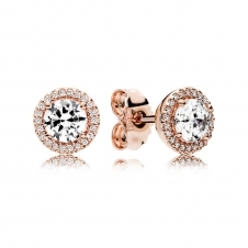 Rose Classic Elegance Stud Earrings 286272CZ