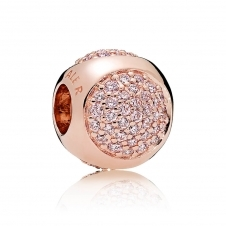 Rose Dazzling Droplet Charm 786214PCZ