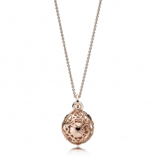 Rose Harmonious Hearts Chime Necklace 387299-90