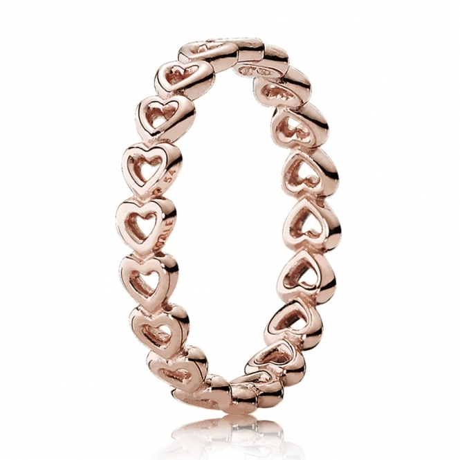 PANDORA Rose Linked Love Ring 180177
