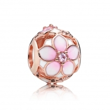 Rose Magnolia Bloom Charm 782087NBP