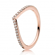 Rose Shimmering Wish Ring 186316CZ