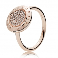 Rose Signature Ring 180912CZ