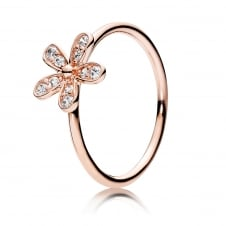 Rose Sparkling Daisy Ring 180932CZ