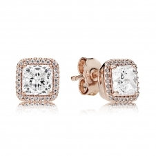 Rose Timeless Elegance Stud Earrings 280591CZ
