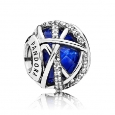 Royal Blue Galaxy Charm 796361NCB