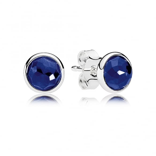 PANDORA September Droplets Stud Earrings 290738SSA