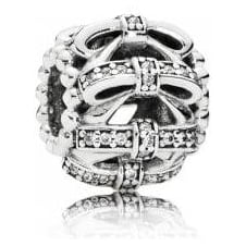 Shimmering Sentiments Openwork Charm 791779CZ