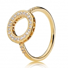 Shine Hearts Halo Ring 167096CZ