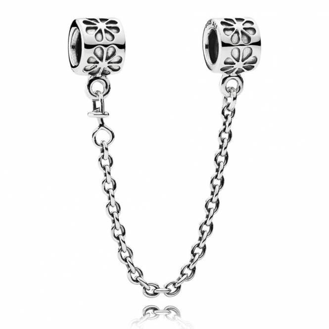 PANDORA silver safety chain 790385-05